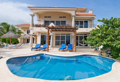 Brisa Caribe is a Vacation Rental Villa in Puerto Aventuras on the Riviera Maya