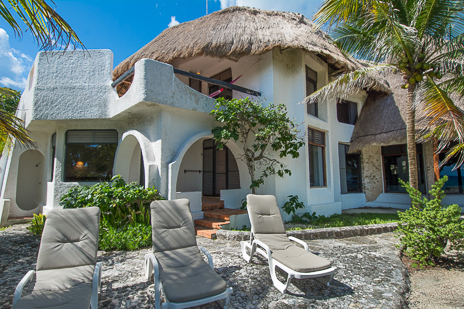 Casa Christensen 4 BR akumal vacation rental villa on the Riviera Maya