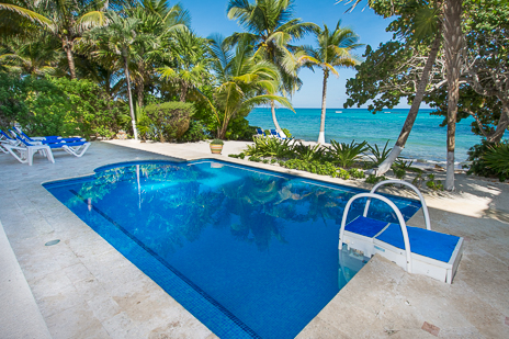 Private pool at vacation rental home