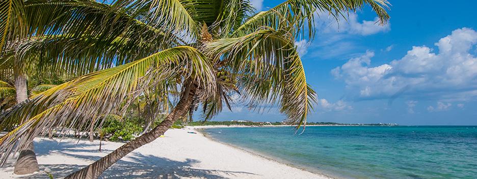 Beach at Villa Mayamor Akumal