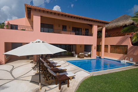 Vacation rental villa, Mayan Riviera